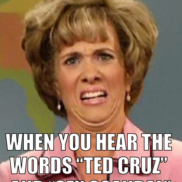 Ted Cruz Sex Scandal the Face You Make