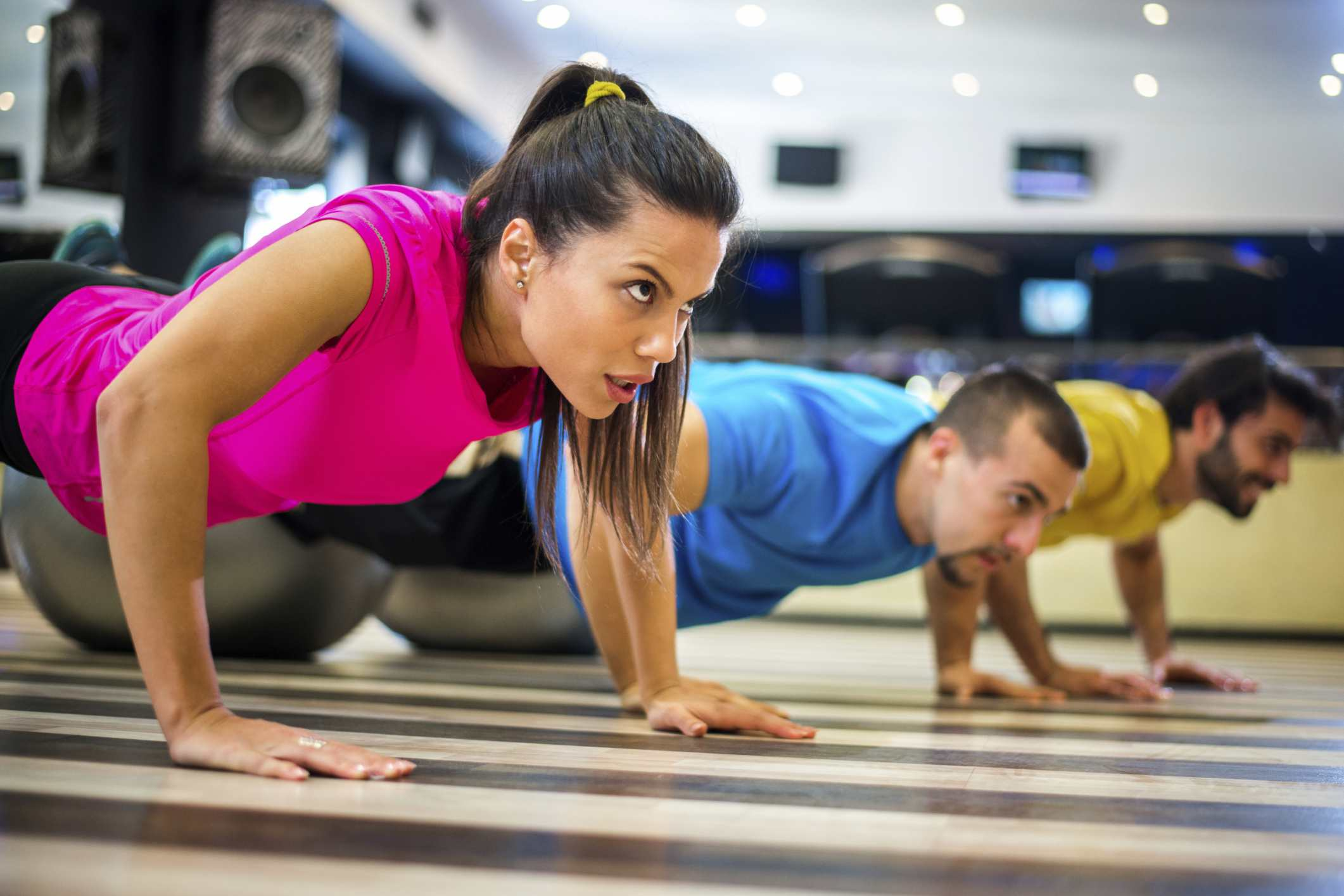 Meet singles at the gym