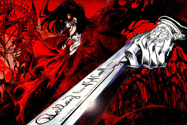 Hellsing Anime Series sover