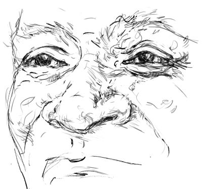 Drawing the Nose - Line Drawing