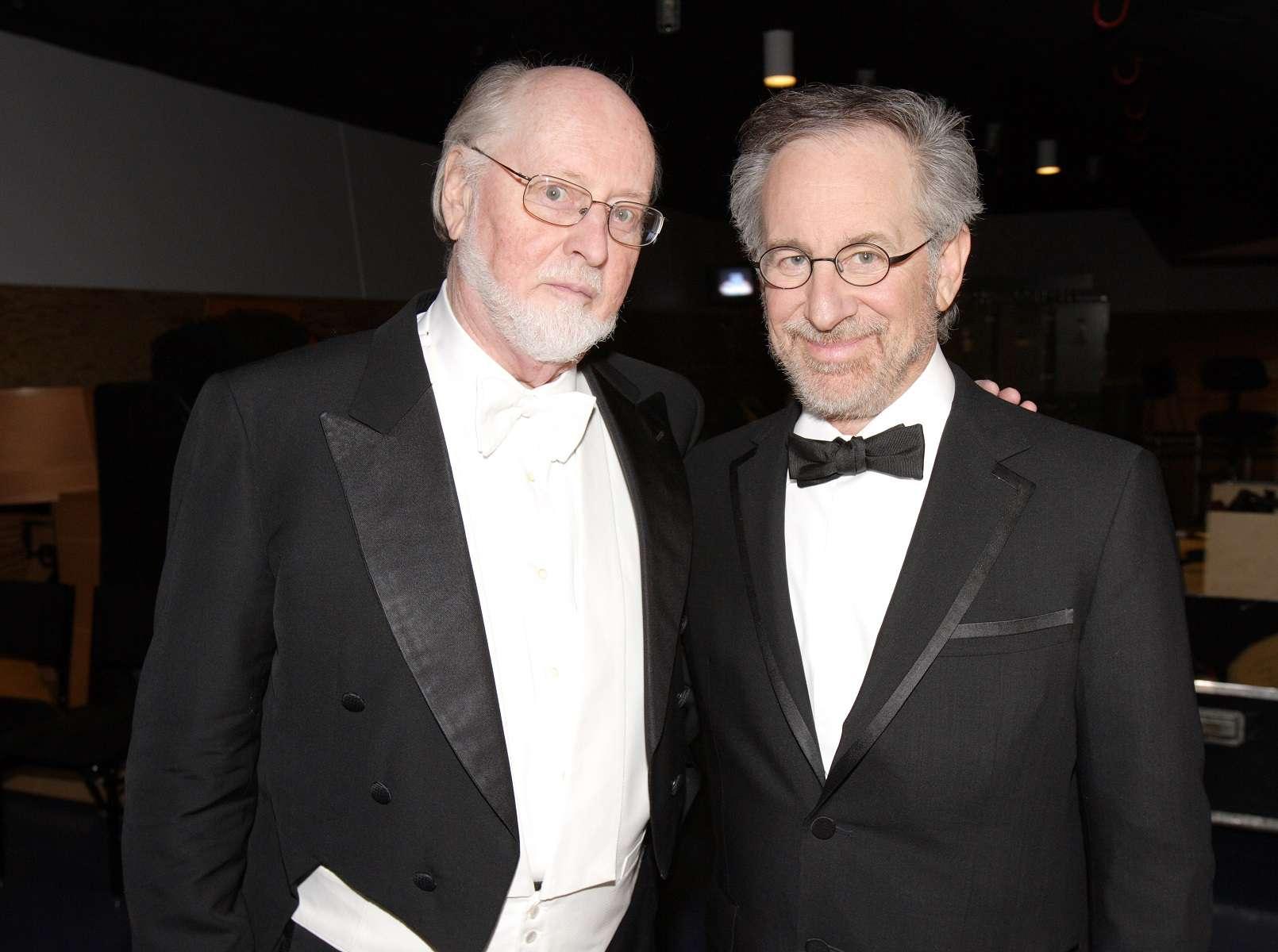 John Williams and Steven Spielberg