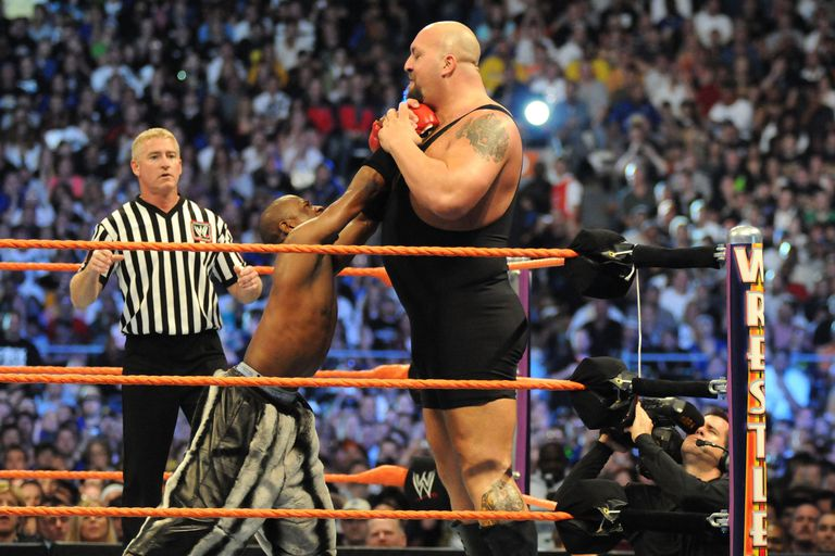 Big Show vs. Floyd Mayweather Jr.