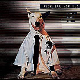 Rick Springfield album cover