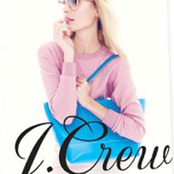 Screenshot of a J. Crew clothing catalog
