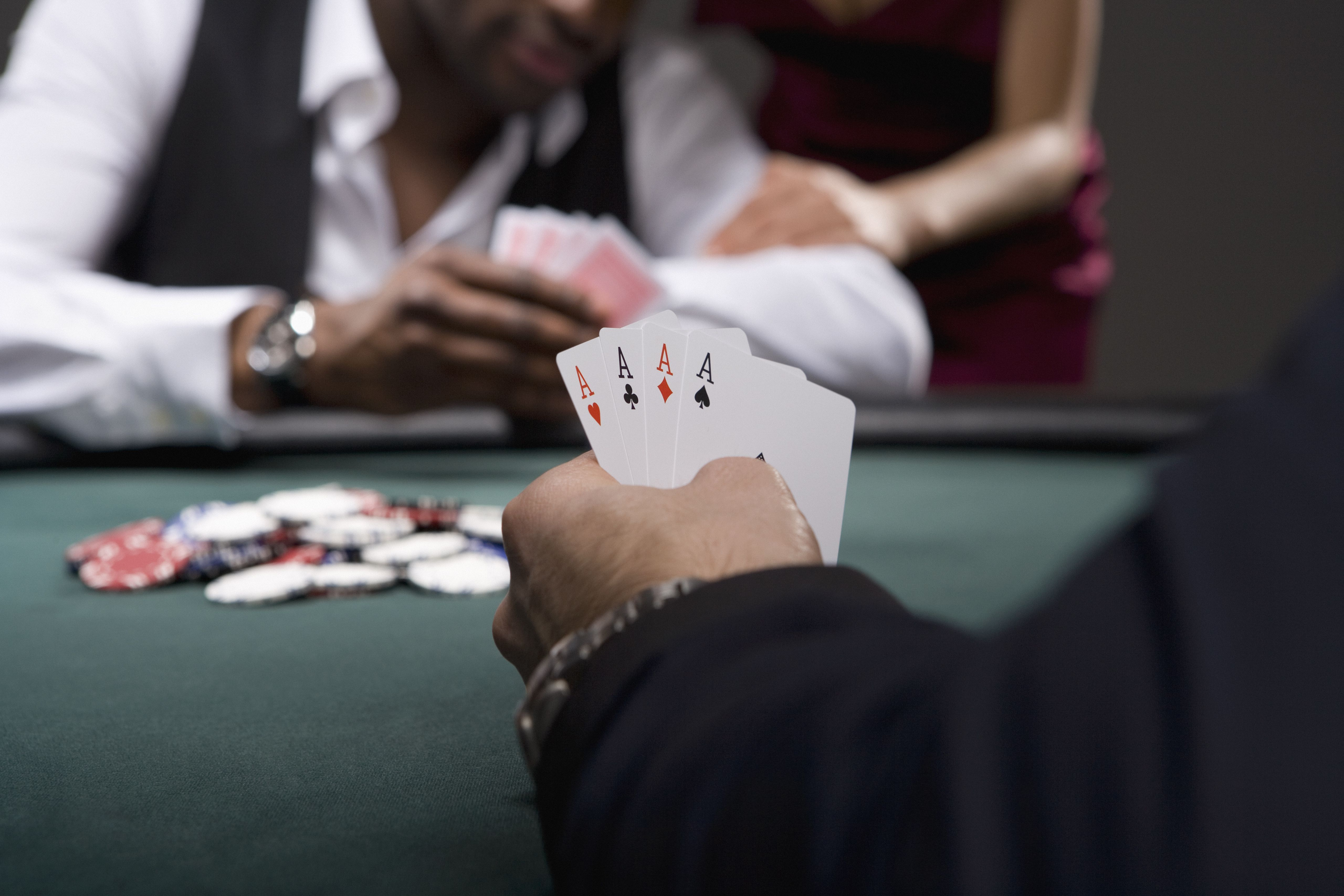 poker rules check