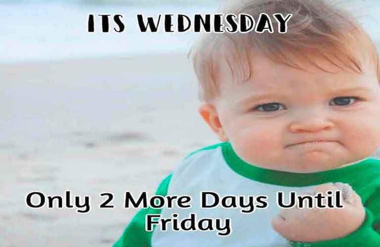 Only 2 more days until friday meme