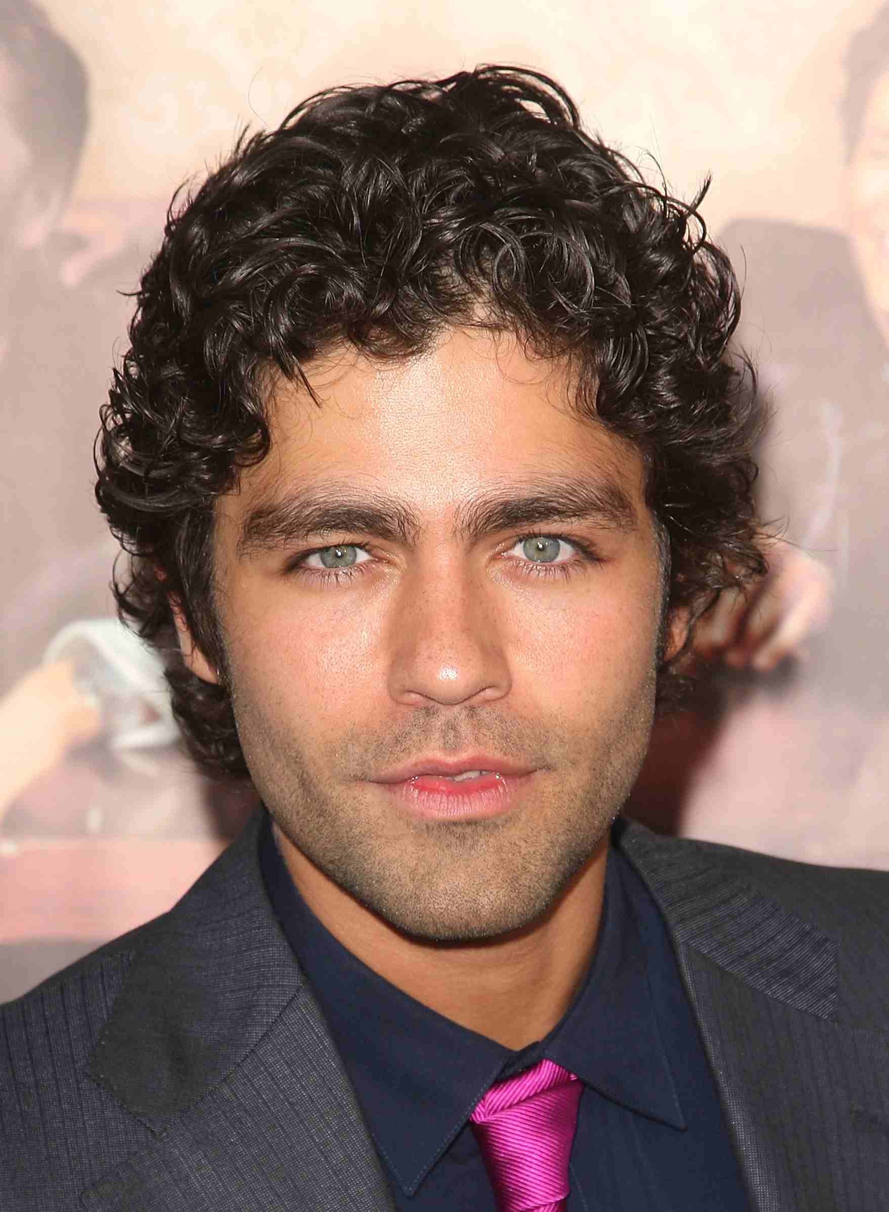Famous Men with Curly Hair A Slideshow