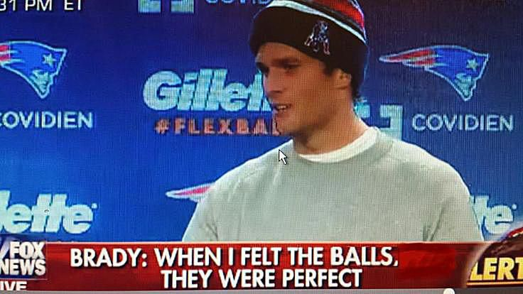 When I felt the balls they were perfect meme