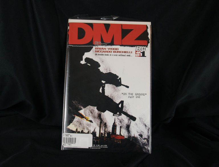 DMZ #1 Autographed by Brian Wood