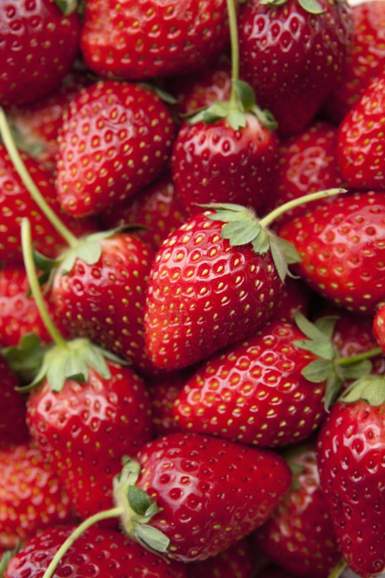 Strawberry Mask for Acne-Prone Skin. Strawberries