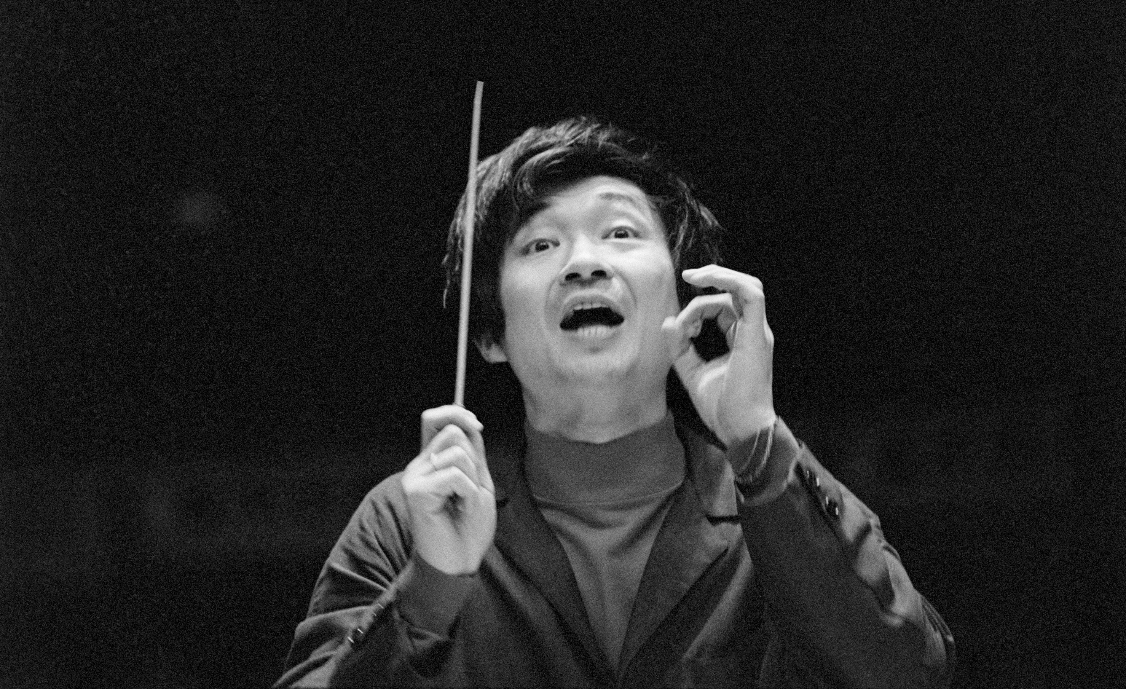 Japanese Symphony Conductor Seiji Ozawa