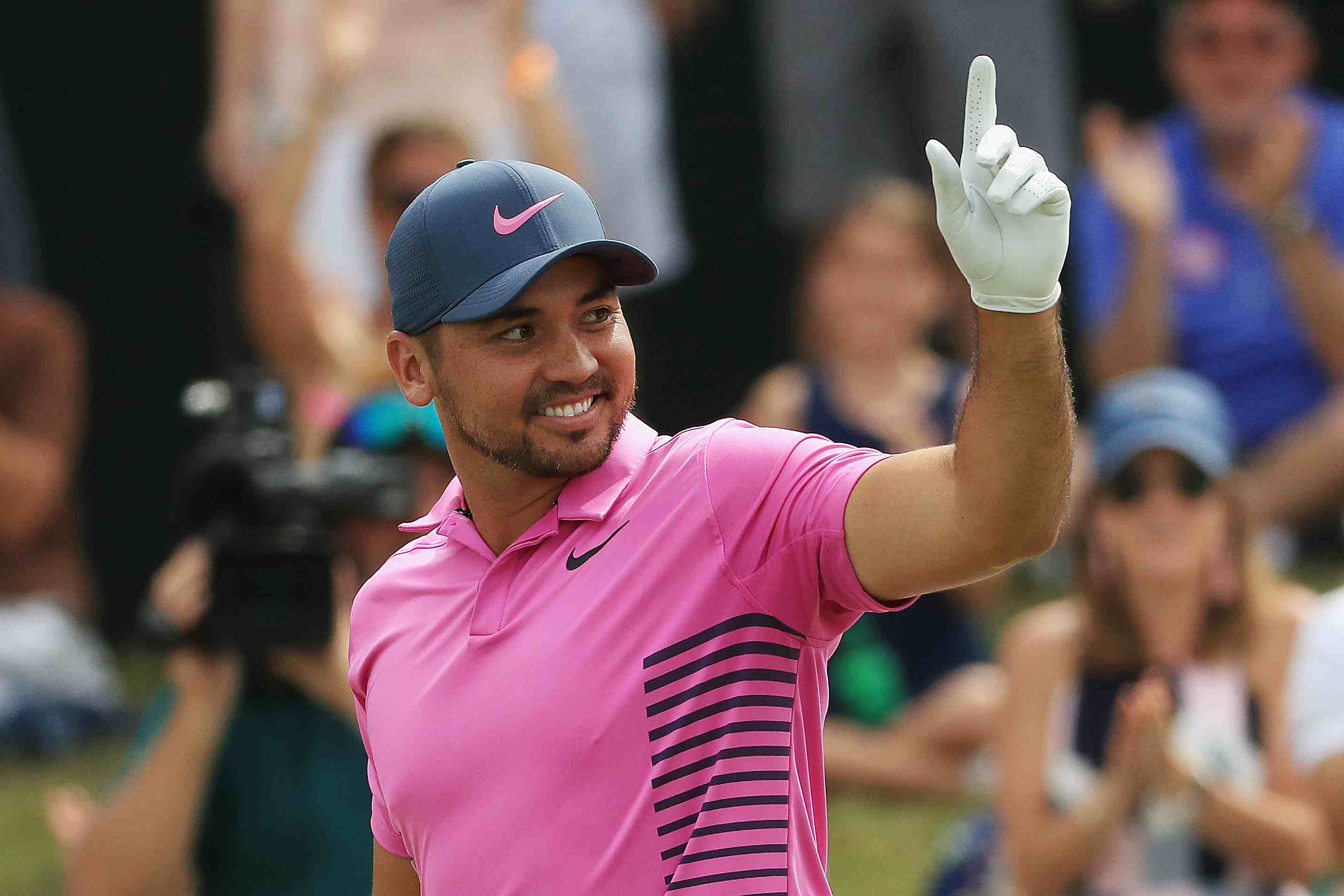 Jason Day pictured in 2018