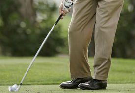 PGA Tour golfer Bill Haas' iron impact on a shot during the Honda Classic
