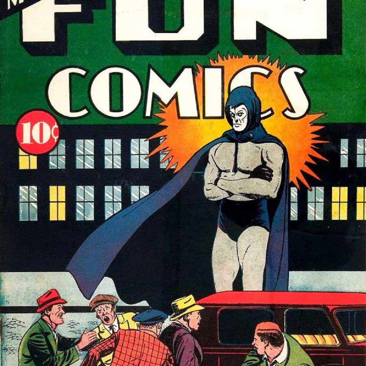 First appearance of the Spectre