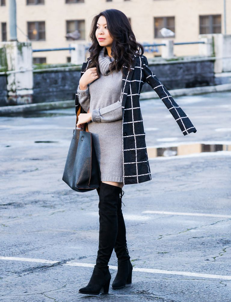 How To Wear A Dress In Winter And Stay Warm