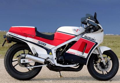 Suzuki RG500 Review