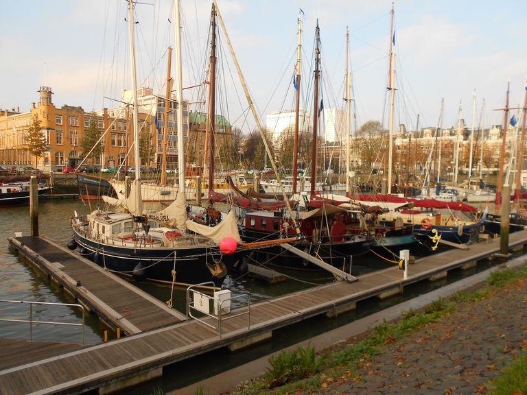 Yacht Harbor in Rotterdam