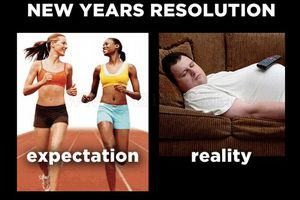 Expectation vs Reality: New Year's Resolution