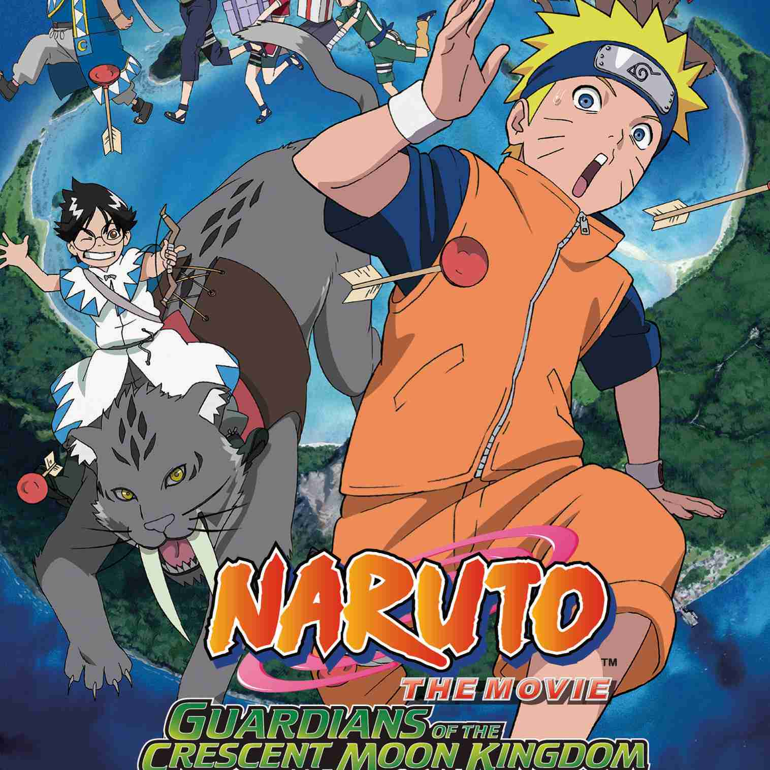 Naruto Anime Movies DVD and Blu-ray Cover Gallery