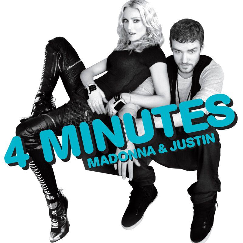 Madonna and Justin Timberlake 4 Minutes