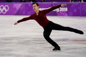 Patrick Chan of Canada competes during the Men's Single Free Program on day eight of the PyeongChang 2018 Winter Olympic Games