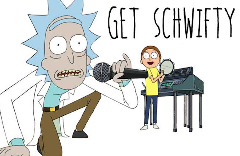 Get Schwifty Rick and Morty meme