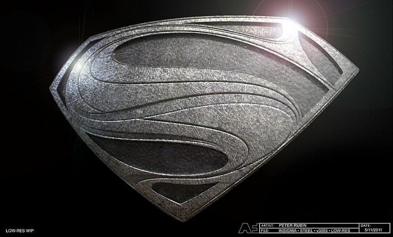 "Conceptual Illustration of Superman Logo for ""Man of Steel"""