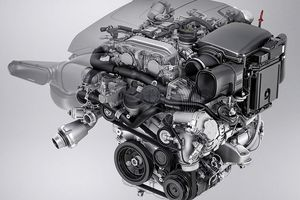 Mercedes-Benz's BlueDIRECT 2.0-liter 4-cylinder direct injection engine
