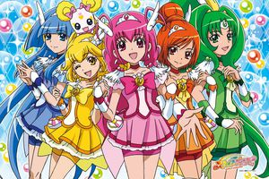 Glitter Force characters