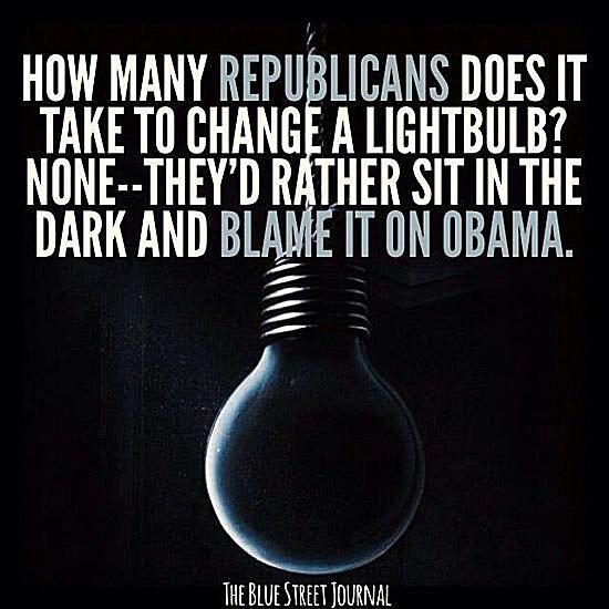 How Many Republicans Does It Take to Change a Lightbulb?