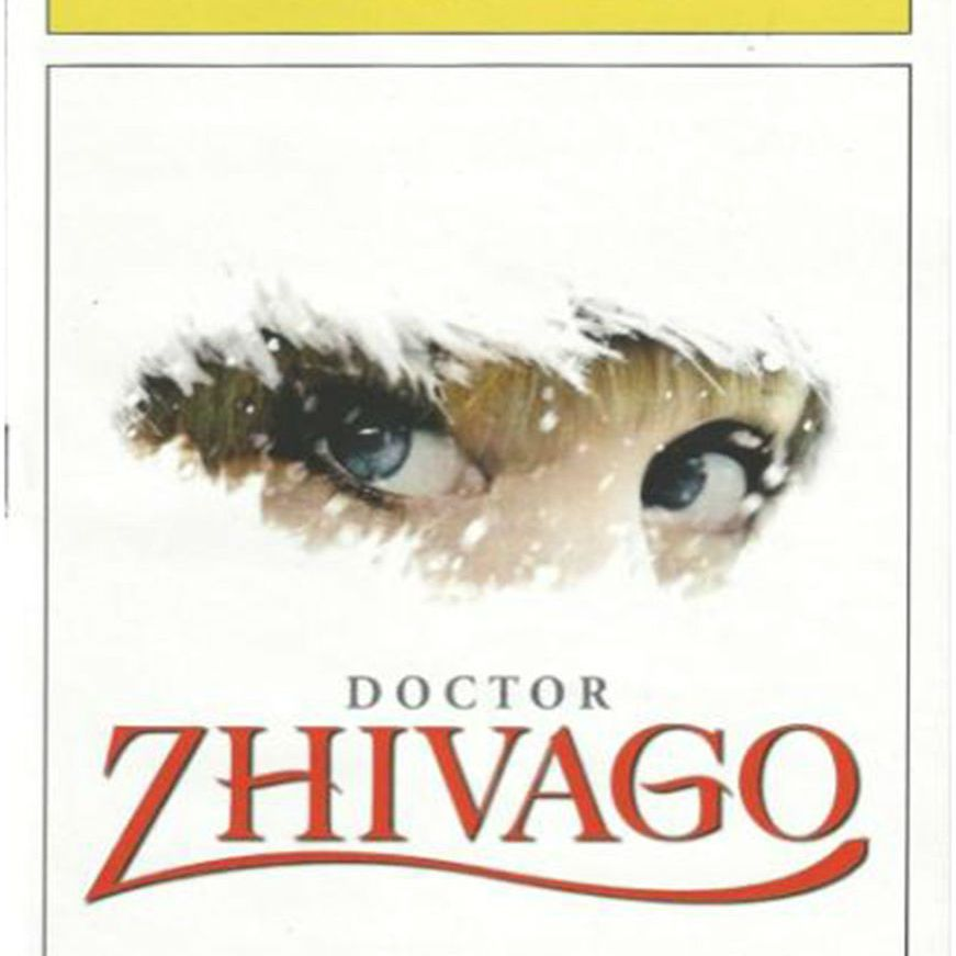 Dr. Zhivago Playbill cover