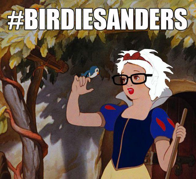 Bernie Sanders Is Snow White