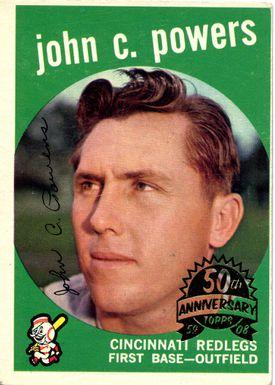 john c. powers card