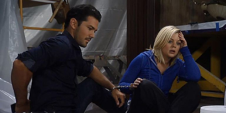 Nathan and Maxie (Ryan Paevey, Kirsten Storms)