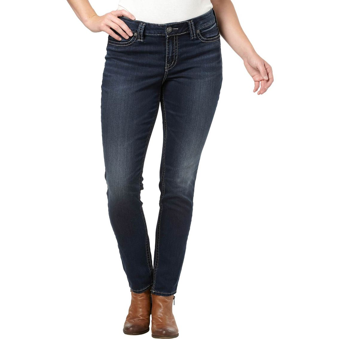 Silver Jeans Mid-Rise Skinny