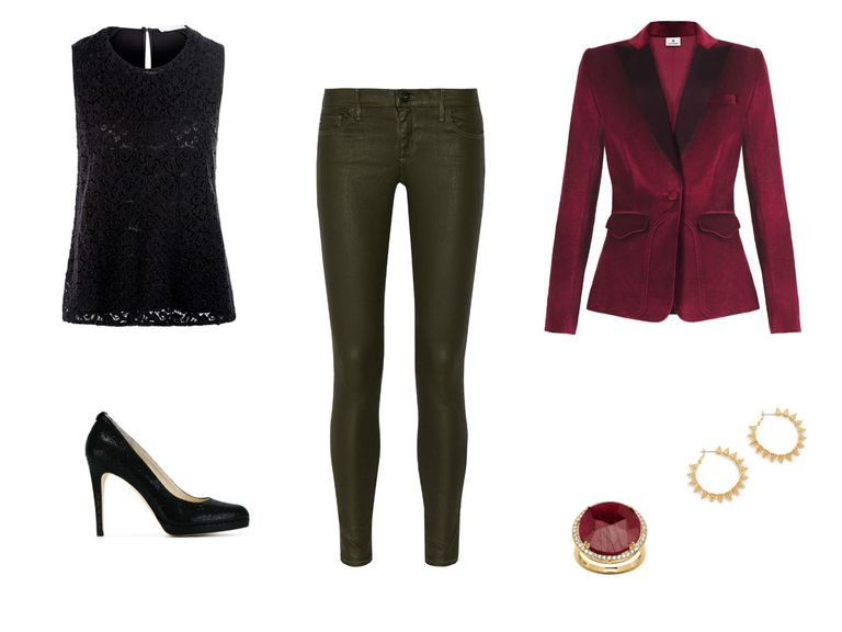 Work Holiday Party Outfit - Holiday Party Outfits With Jeans - Cute Casual Outfits