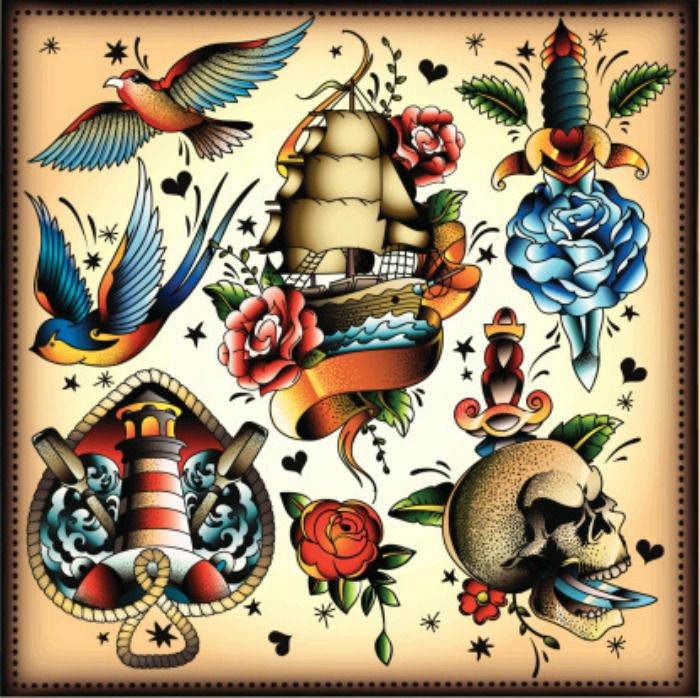 what is tattoo flash