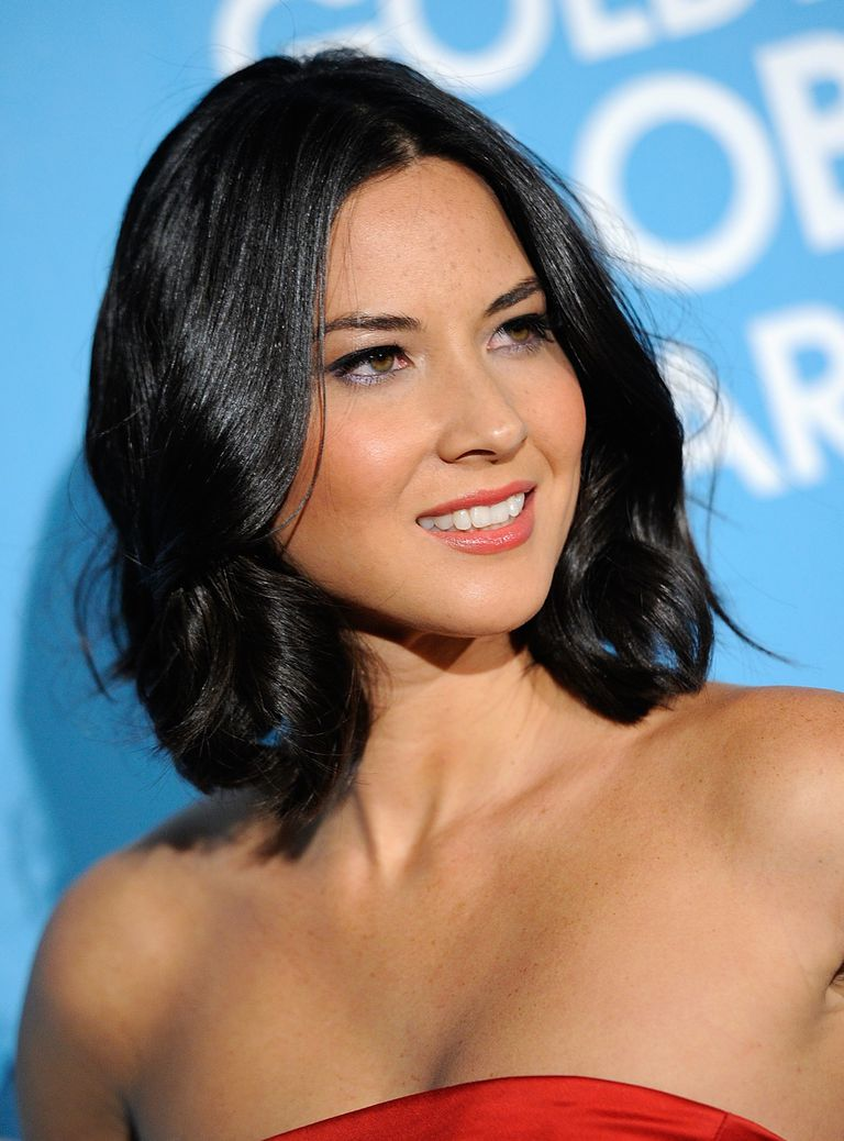 Shoulder-Length Hair. Olivia Munn hairstyles