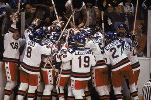 Team USA celebrates 'the Miracle on Ice'