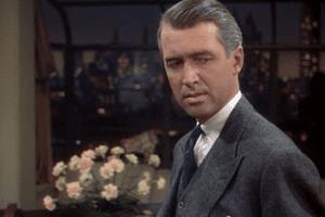 James Stewart in 'Rope'