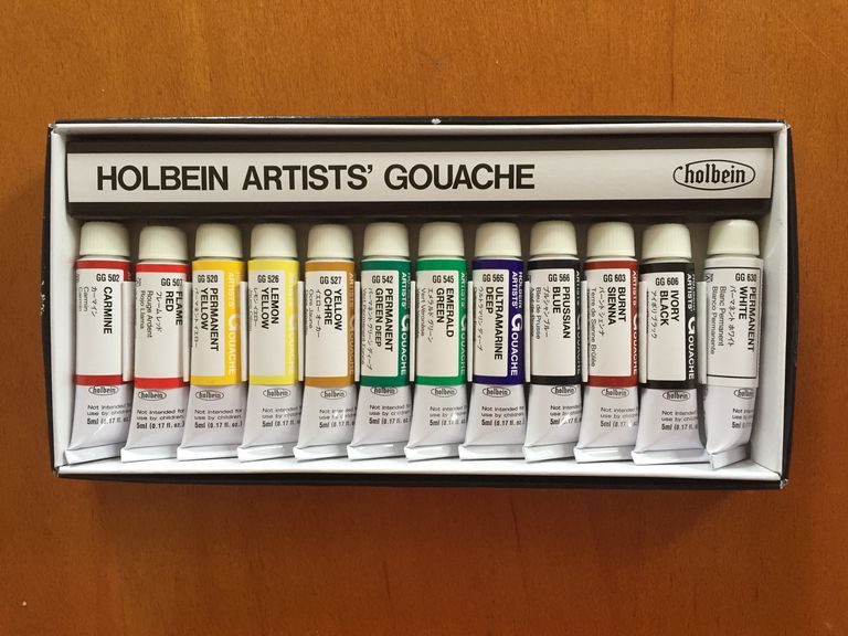 Box of Holbein Artists' Gouache