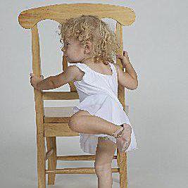 Toddler arabesque
