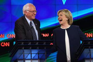 Hillary and Bernie Democratic Debate