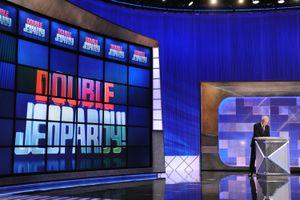 Jeopardy! stage with Alex Trebek