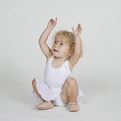 Reaching toddler