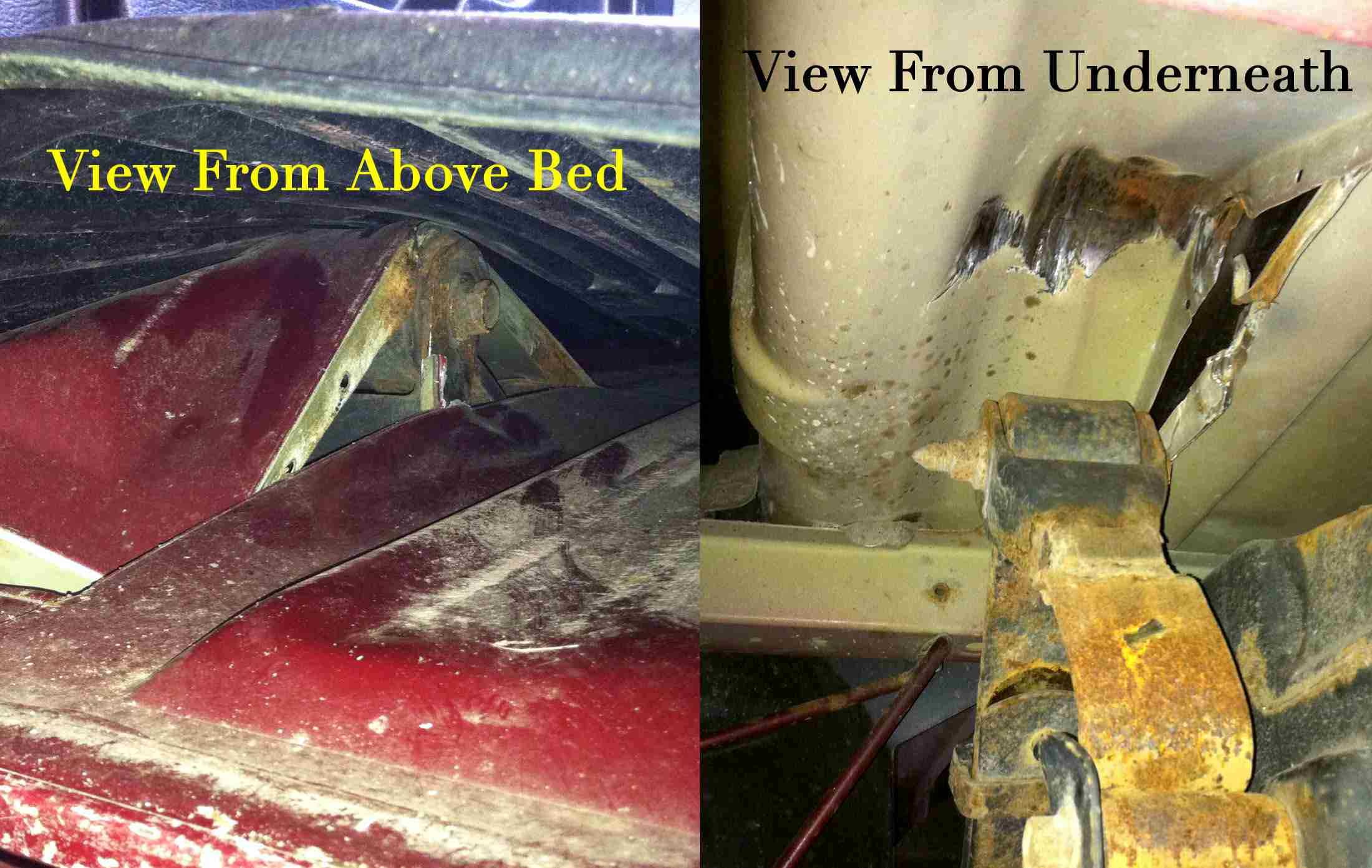 Replacing a Leaf Spring Perch Mount or Shackle