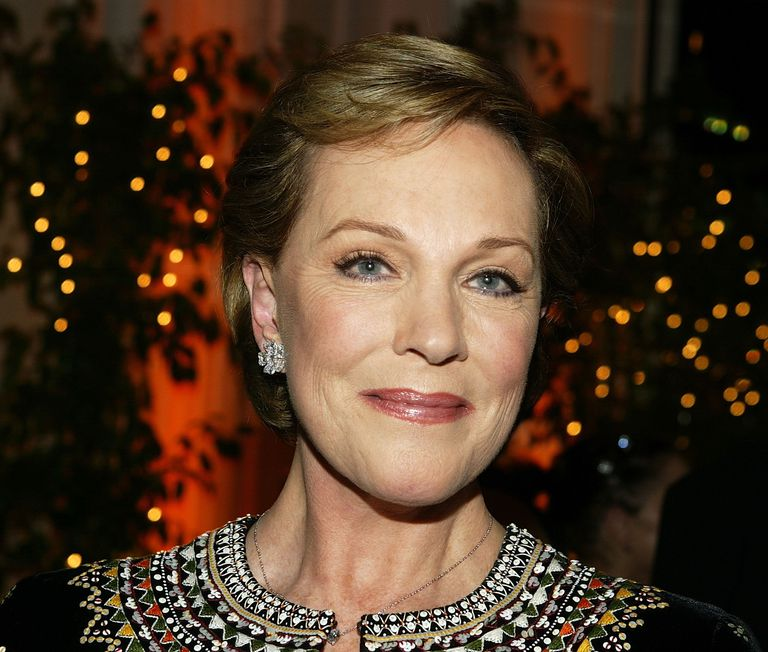 Julie Andrews at an Awards - Reception