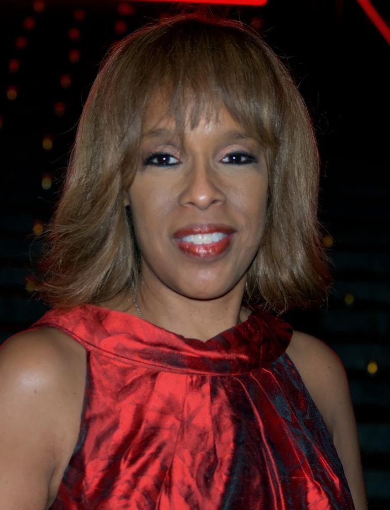 Gayle King at the Vanity Fair kickoff part for the 2009 Tribeca Film Festival.