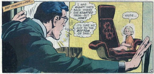 Comic panel from Superman #254 (1972)