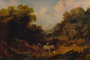 Lane Scene', 1851, (1935). From the collection of the Bolton Museum and Art Gallery, Bolton.